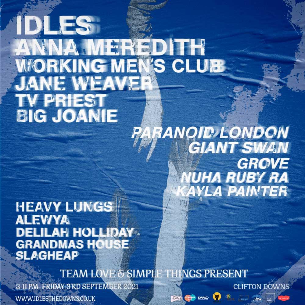 IDLES TOUR TICKETS