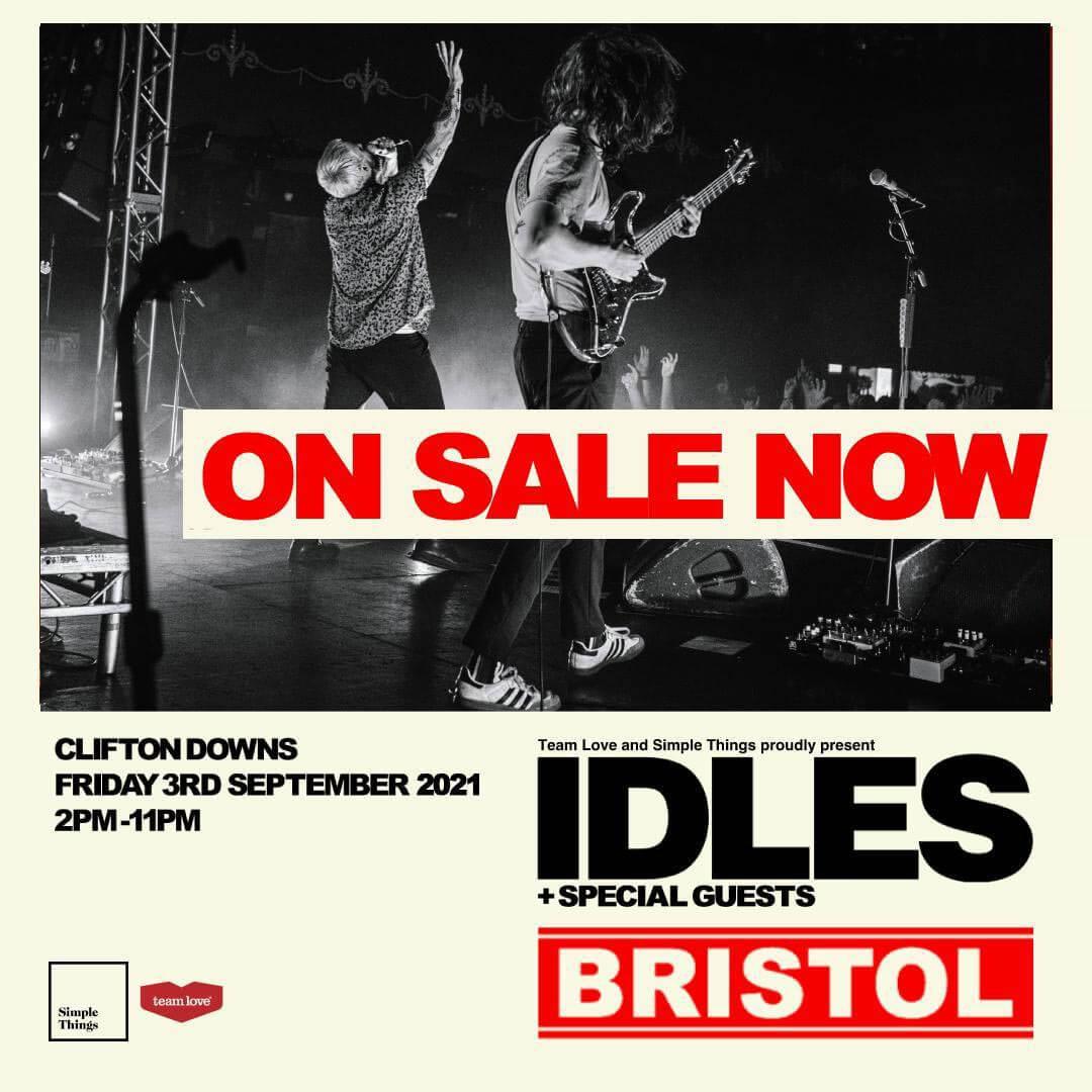 IDLES 2021 TOUR