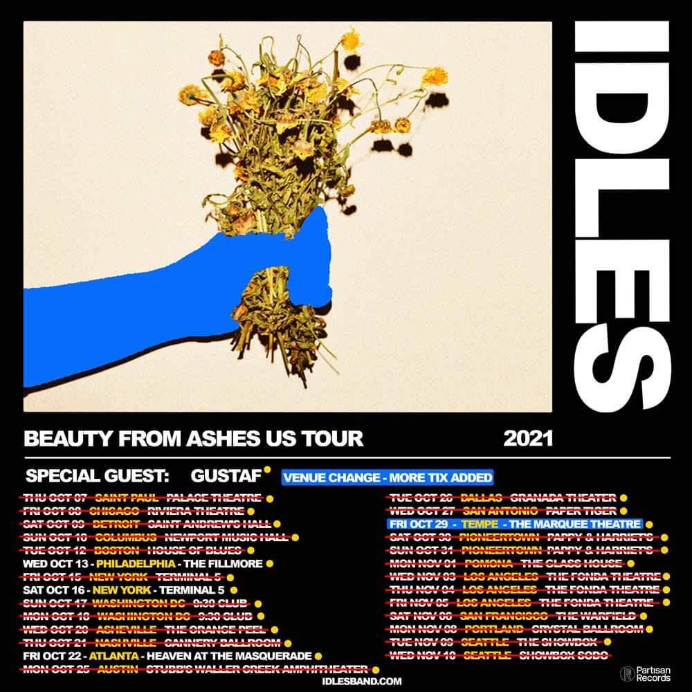 IDLES 2021 US TOUR